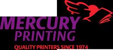 Mercury Printing Logo